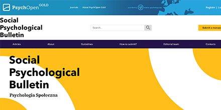 New PsychOpen Journal:  PsychOpen is pleased to announce the launch of a new journal: Social Psychological Bulletin. #psychology #OA #NoAPC #openscience  @SocialPsychBull  @ARPHAplatform   https:// leibniz-psychology.org/en/news/articl e/news/neue-psychopen-zeitschrift-social-psychological-bulletin/?tx_news_pi1%5Bcontroller%5D=News&amp;tx_news_pi1%5Baction%5D=detail&amp;cHash=4f002d317490ba4d359b87f5a95e2256 &nbsp; … <br>http://pic.twitter.com/FWtqR5ZHo9