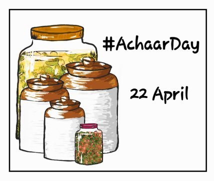 Achaar Day - 22 April  IMAGES, GIF, ANIMATED GIF, WALLPAPER, STICKER FOR WHATSAPP & FACEBOOK
