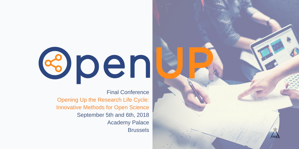Yes! We are live!  Registration is open for the @ProjectOpenUP Final Conference 5 6 Sept Brussels !! Register here:  https:// bit.ly/2HoAXlK  &nbsp;    #OpenUPH2020 #OpenScience <br>http://pic.twitter.com/sfs8cwO0pe