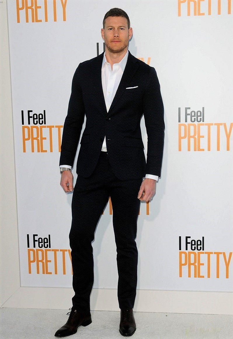 The brilliant @Tomhopperhops looked incredible last night at the LA premiere of @IFeelPretty! Coming to US cinemas on April 20th and in the UK from the 30th April #ifeelpretty