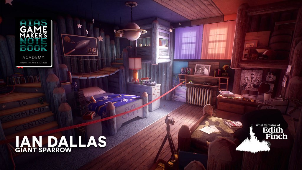 In this AIAS Game Makers Notebook, @giantsparrows @iandallas joins @GregRicey of @DoubleFine to talk about his #gamedev journey, What Remains of Edith Finch (SPOILERS), maintaining a studio size of one, and switching publishers during development! interactive.org/Interviews/the…