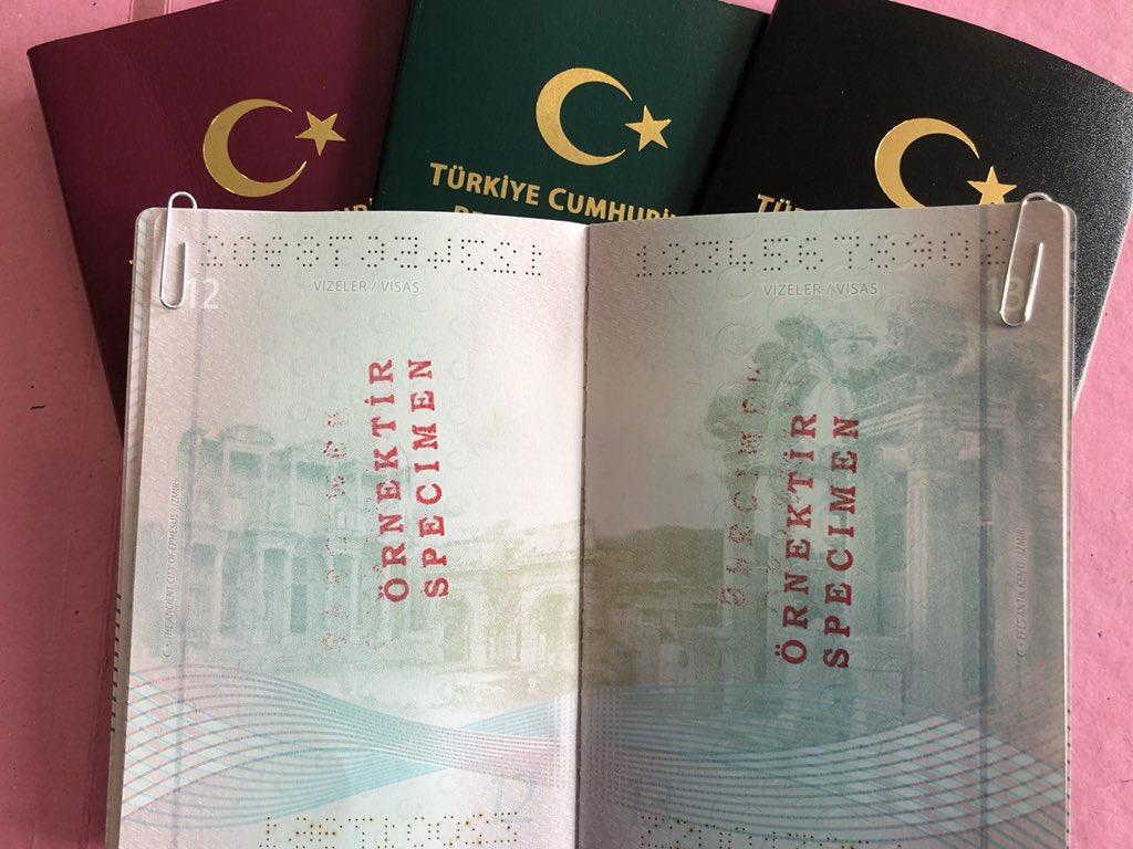 """TRConsulateChicago 🇹🇷 on Twitter: """"Sayfaları ve içeriği yenilenen Türk  Pasaportları, Efes Antik kentinden Sultanahmet Camii'ne, Eski Mardin'den  Trabzon Uzungöl'le ülkemizden 15 farklı güzellik sunuyor.  https://t.co/xBgfqR2i6V… https://t.co/DQVPT1jE4W"""""""