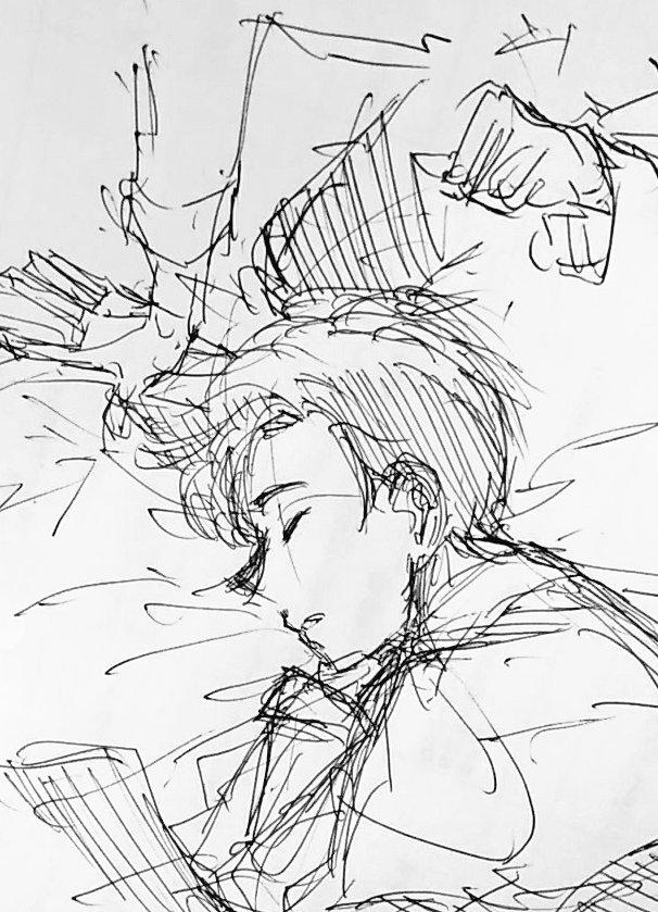 寝業師の癖にベッドでヘタレな岡崎くん最高では。その割に安眠であると大変嬉しいです私が
