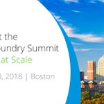 Can't attend the #CFSummit in Boston? Fear not, you can follow all the action by signing up for the @cloudfoundry Summit live stream: https://t.co/Fo3I7DC9yC