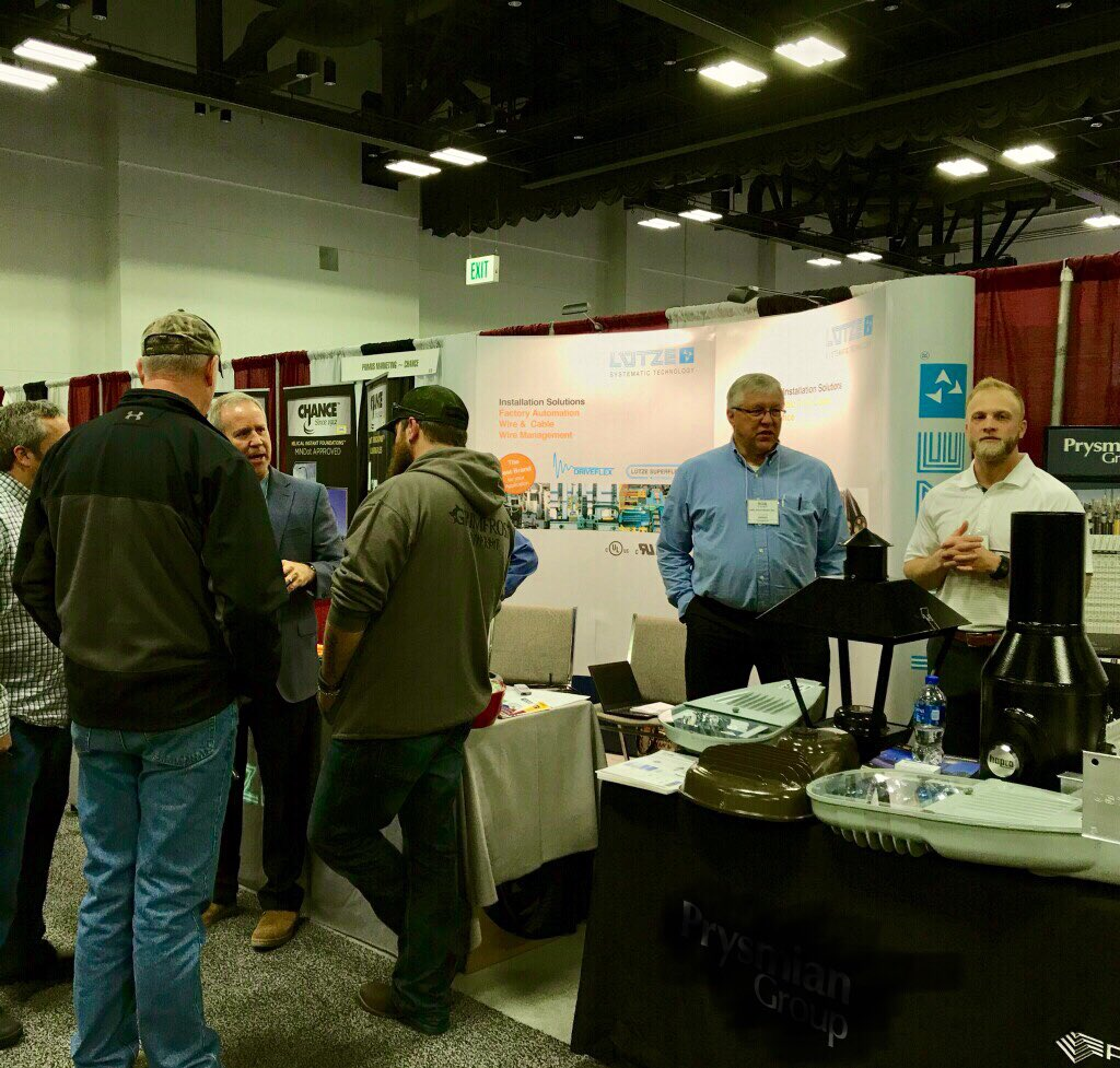#NCELEXPO is starting with a bang! See you at LUTZE booth #612. @nceltweets...