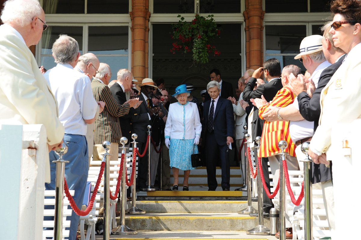 🎂 Happy Birthday to Her Majesty The Queen - MCC's patron.   #LoveLords
