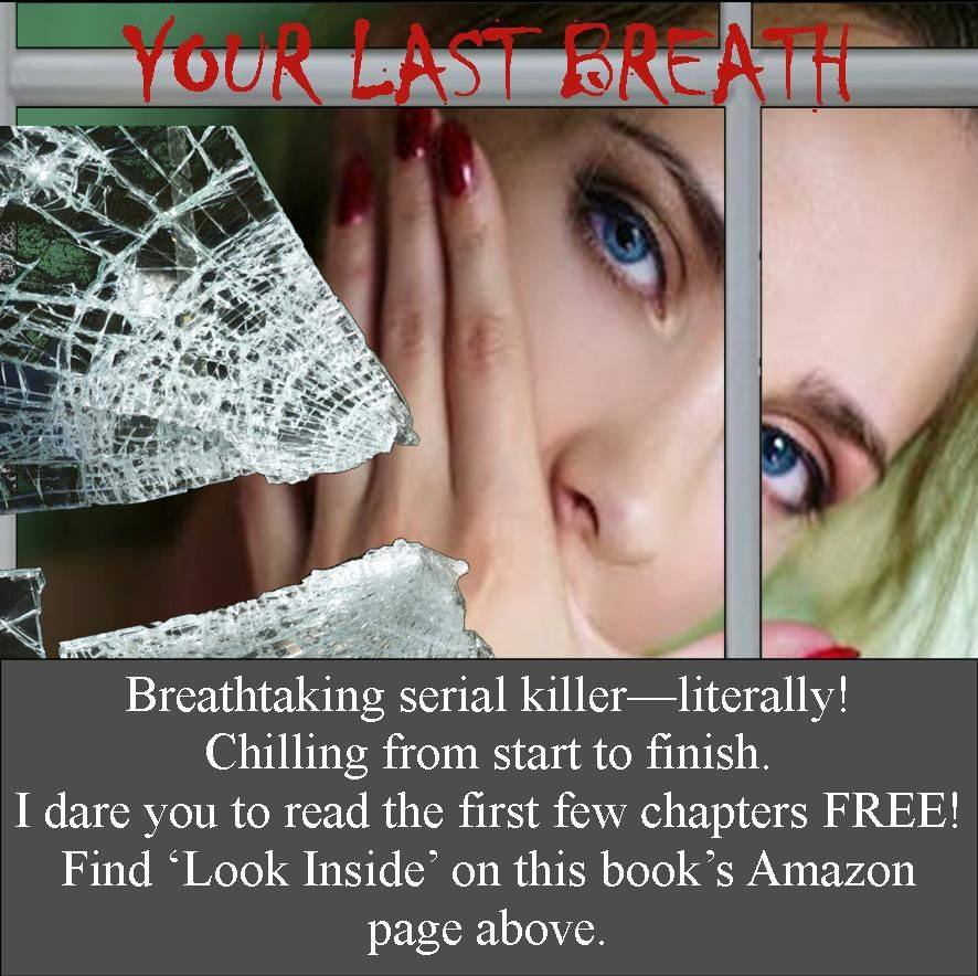 """Reviewer says, """"The book holds an emotional roller-coaster as you feel for the characters. ... Makes you yearn for more. Definitely recommend this book!"""" #Thriller #SerialKiller #SuspensefulTwists    @CaroleParkes1 #CoPromos"""
