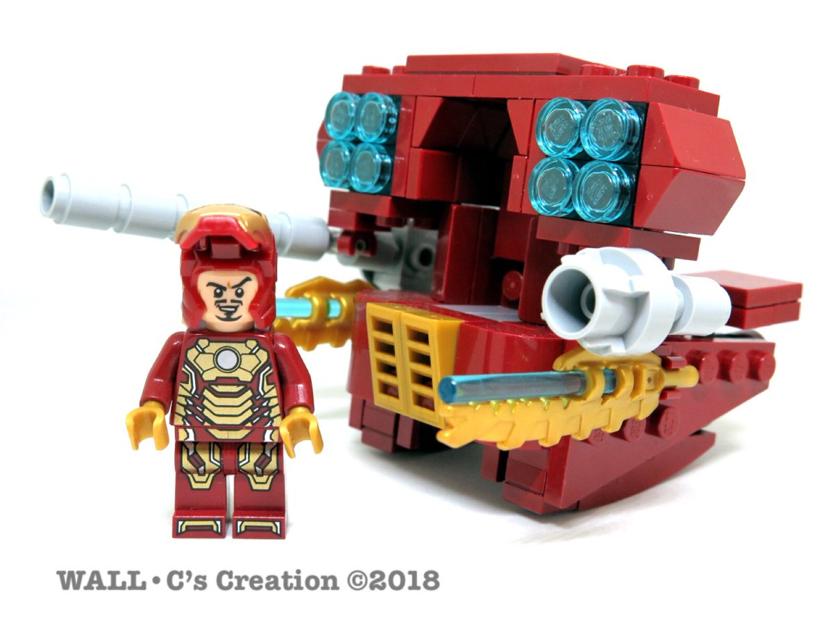 "Lego Marvel Moc: Wallace Chow@JBF2019 On Twitter: ""My Latest Moc Lego"