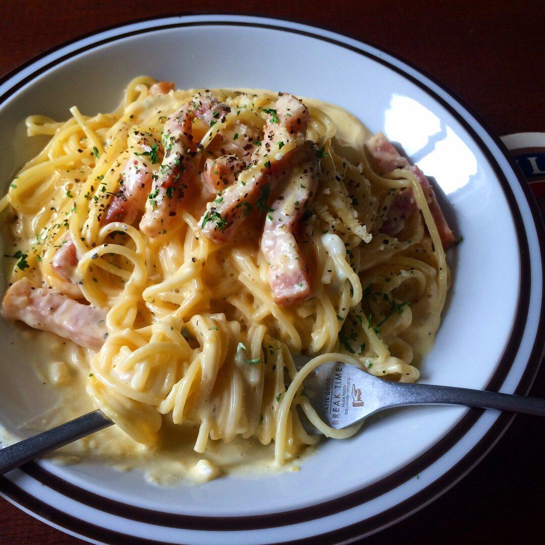 【レシピ】レンジのスパゲッティで圧倒的にうまくできたのがカルボナーラがコチラwwww