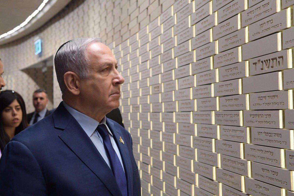 בזכותם של 23,646 חללי מערכות ישראל, ששמותיהם כאן על הקיר הזה, בזכותם אנו כאן.