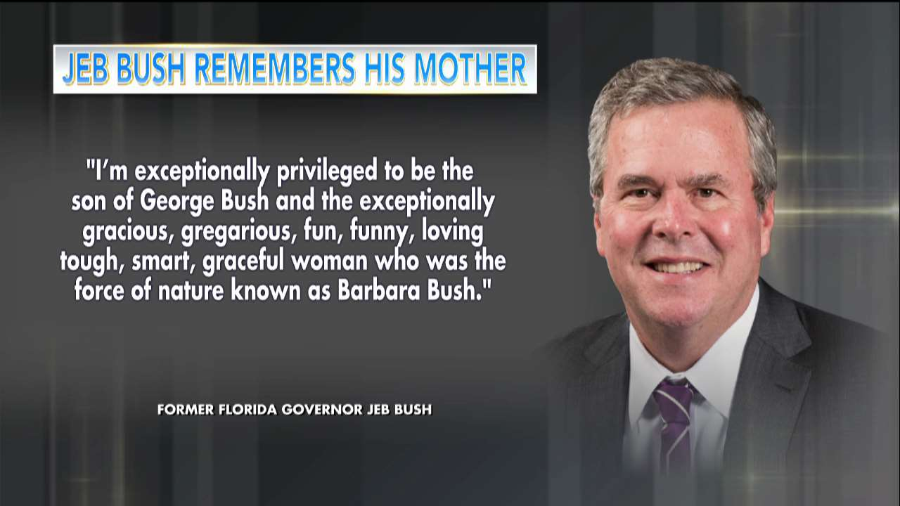 .@JebBush remembers his mother https://t.co/vM1bHSGl3j https://t.co/Mpkc2ZDrvm