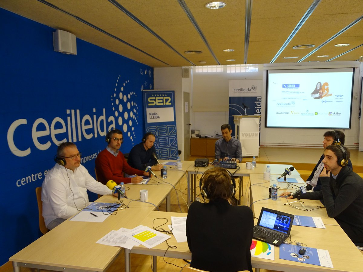 Avui hem emès un nou programa de l'espai #Empresaris de @SERLleida en el que hi han participat @jbuchaca, del @Promo_Economica de la @DiputacioLleida; @ricardvizcarra, d'@ECOSTUDI; Robert Cabrera, de @Blackpier; Óscar Ortega, de @btactic i Josep Lluís Sánchez-Fortún d'@infoskilbo https://t.co/mqA98yO0LB