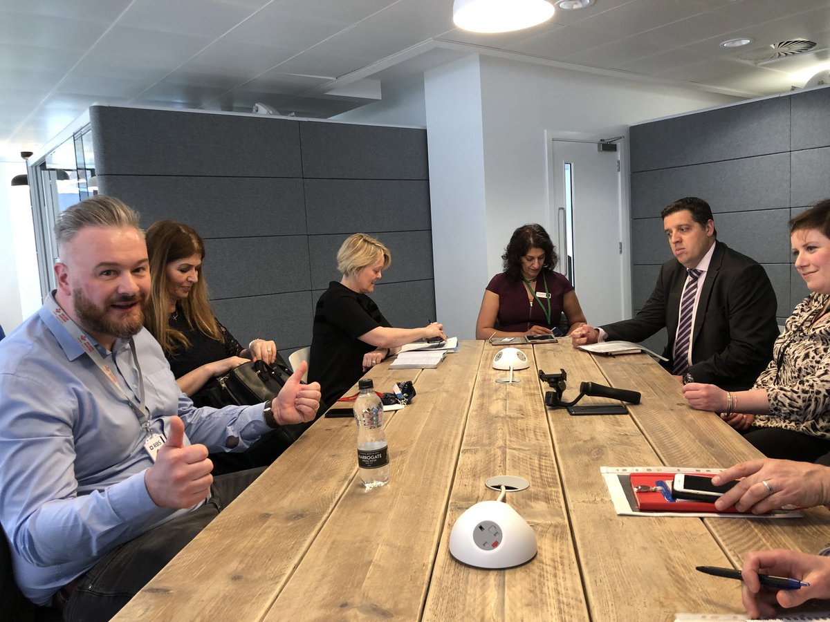 What an absolute privilege to join the round table discussion with Alison Rose Chief Executive of RBS and her team! #NatWest #Entrepreneur #Accelerator #PowerUp @NatWestBusiness @LeeCurrier @Anna_Midd @JoshW_Business #OptHR #HR #Business<br>http://pic.twitter.com/LHKFQl7A68