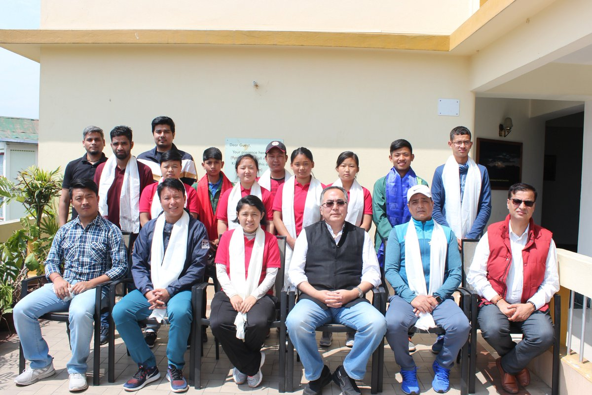 A farewell lunch was hosted by The President of Sikkim Cricket Association in Gangtok yesterday, where all the selected players for upcoming ZCA camp 2018 in Northeast were honored.