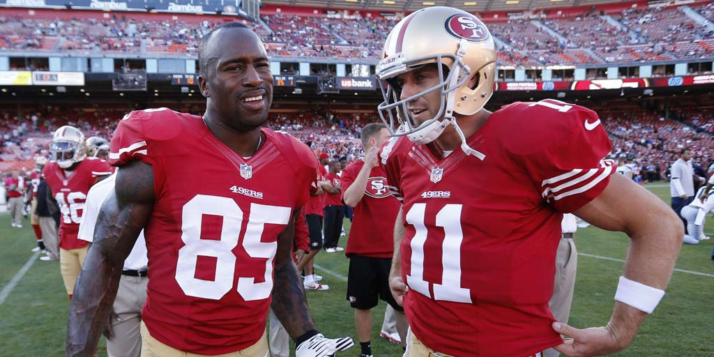 Reunited and it feels so good: Vernon Davis happy to play with Alex Smith again https://t.co/tpfllGpXHW https://t.co/yQrjNYHqFs