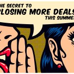 The selling season is around the corner!  So what's the secret to closing all your deals this summer? https://t.co/Q5Vt1gzN50