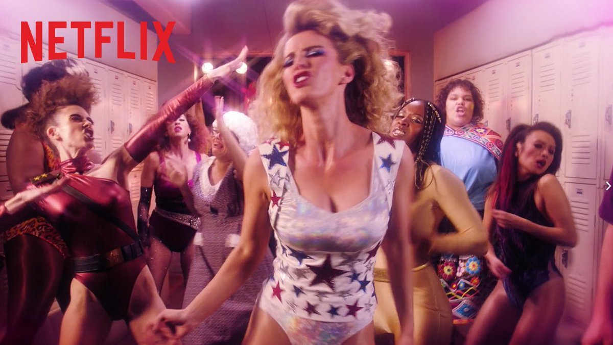 The girls are back in town. #GLOW returns June 29. 💪✨