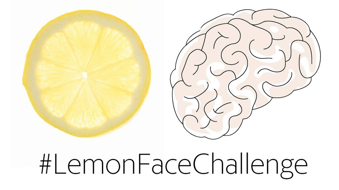 Viral #lemonfacechallenge fights rare cancer #dipg that's