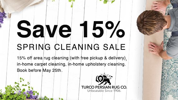 Book Before May 25 And Get 15 Off In Home Carpet Upholstery Cleaning Area Rug With Free Pickup Delivery Http Www Turcopersian Com