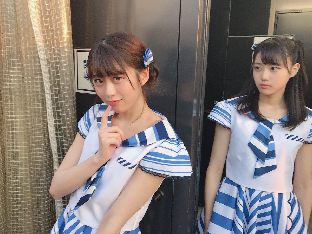 "STU48: STU48 On Twitter: ""はるるん、あざといポーズ撮影の裏側… #STU48 #佐野遥 #瀧野由美子"