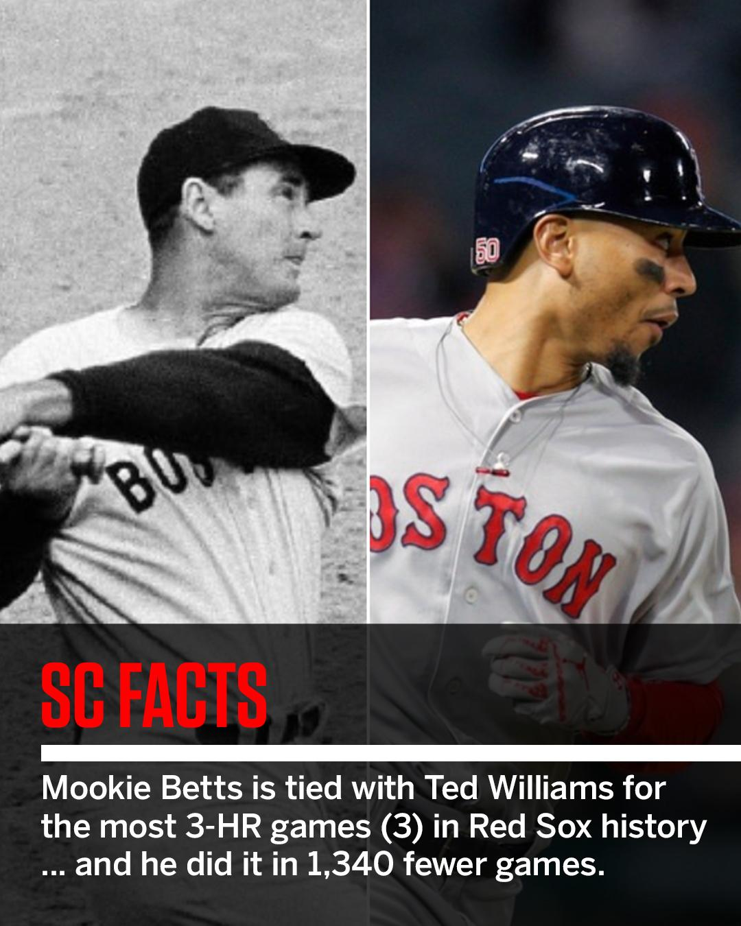 Always a good sign when you hit as well as Ted Williams. #SCFacts https://t.co/usRLLnj8bO