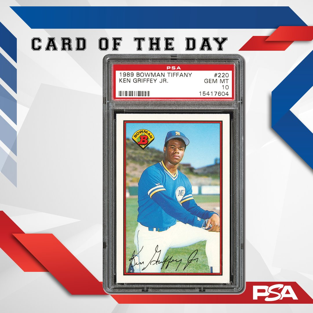 Psacard On Twitter Card Of The Day 1989 Bowman Tiffany