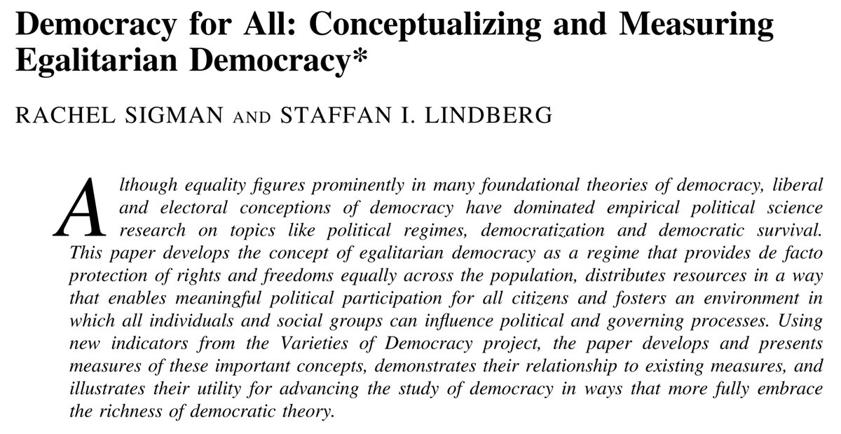 conceptualizing and measuring democracy a new In the wake of the cold war, democracy has gained the status of a mantra yet there is no consensus about how to conceptualize and measure regimes in this prescriptive article, we argue for a new approach to conceptualization and measurement we first review some of the weaknesses among.