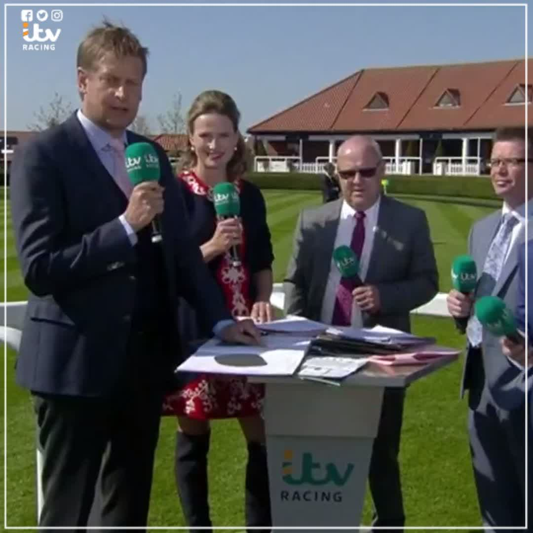 Winning Trainer Richard Fahey and winning Jockey Tony Hamilton talk after Forest Ranger's win @NewmarketRace - Watch LIVE on @ITV4