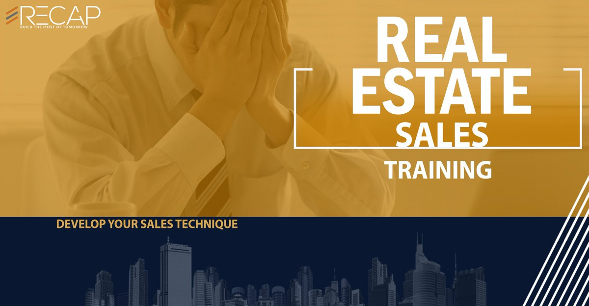 Make your team professional in Real Estate through RECAP Academy for more info visit our website: https://t.co/SXCfql4t9C  #RECAP_Build_The_Most_Of_Tomorrow https://t.co/OczxQFkmPn