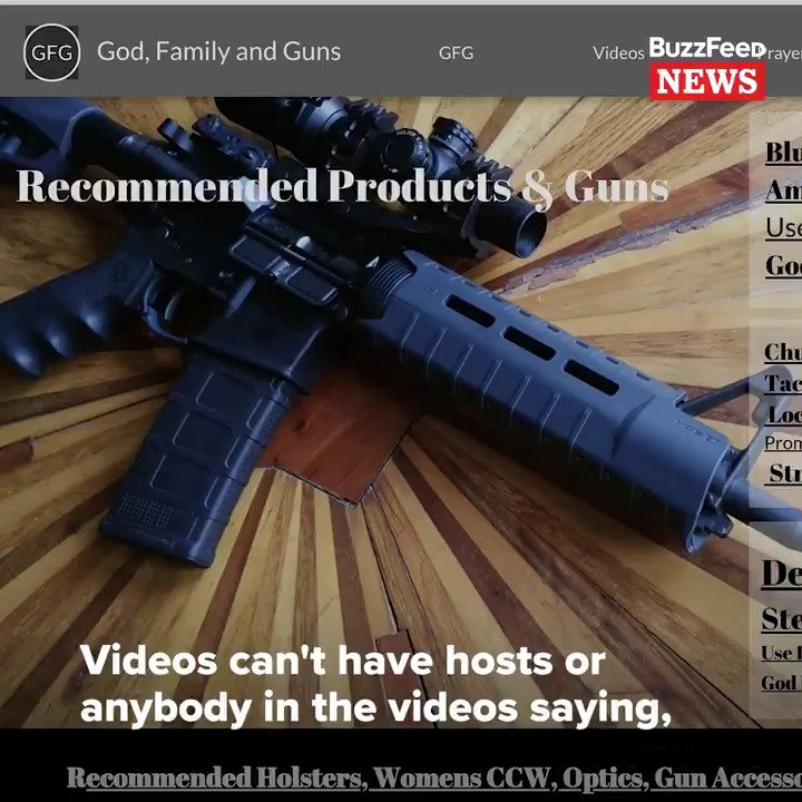 YouTube cracked down on videos about guns, so firearm enthusiasts are building their own platforms.