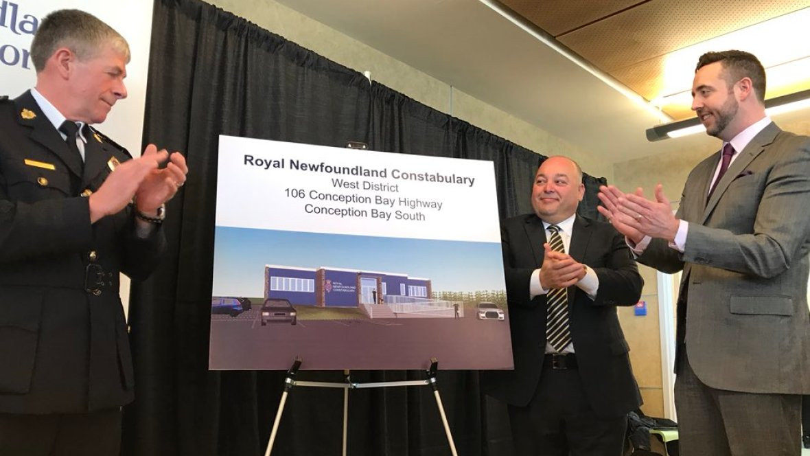 UPDATED | Enhanced policing services coming to Conception Bay South as RNC announces new detachment  https://t.co/6N6xYHQYwh #cbcnl #Nlpoli #nlcrime