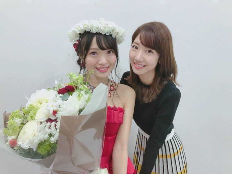 やりきりました😇🌹✨最高の10年間でした❤️愛してる!!!!! #NGT48 #AKB48 #北原里英