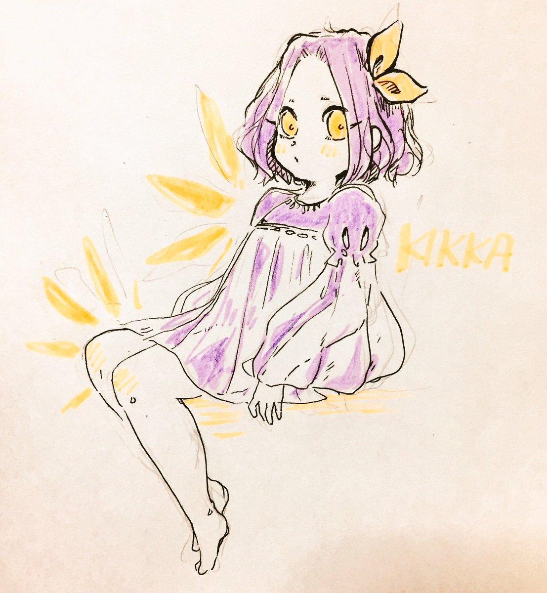 🌻夏のお嬢さん🌻/キッカ