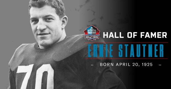 Hall of Fame DT Ernie Stautner was born OTD in 1925. Hall of Fame Enshrinement Class of 1969. Selected in the 2nd Round (22nd Overall Pick) of the 1950 #NFLDraft by the @steelers.