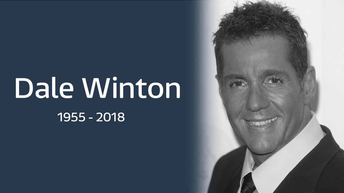 Breaking: TV presenter Dale Winton has died at the age of 62, his agent has announced.