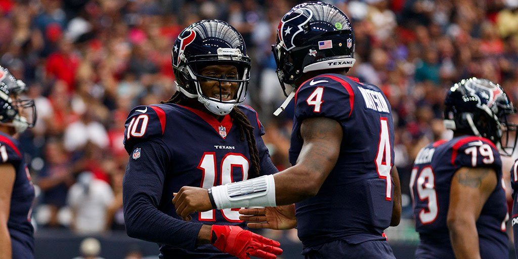 DeAndre Hopkins: Deshaun Watson and I can be 'best duo' in NFL https://t.co/NQooAabRVX https://t.co/InXNpYwsKj