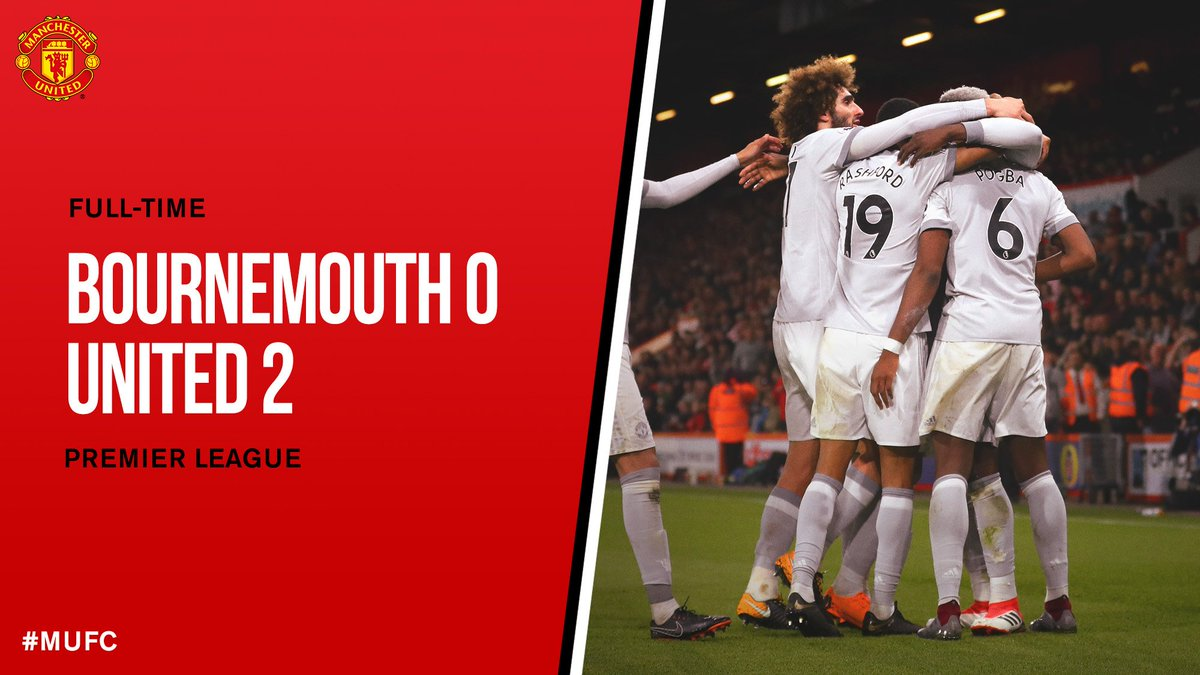 Chấm điểm kết quả Bournemouth 0-2 Manchester United
