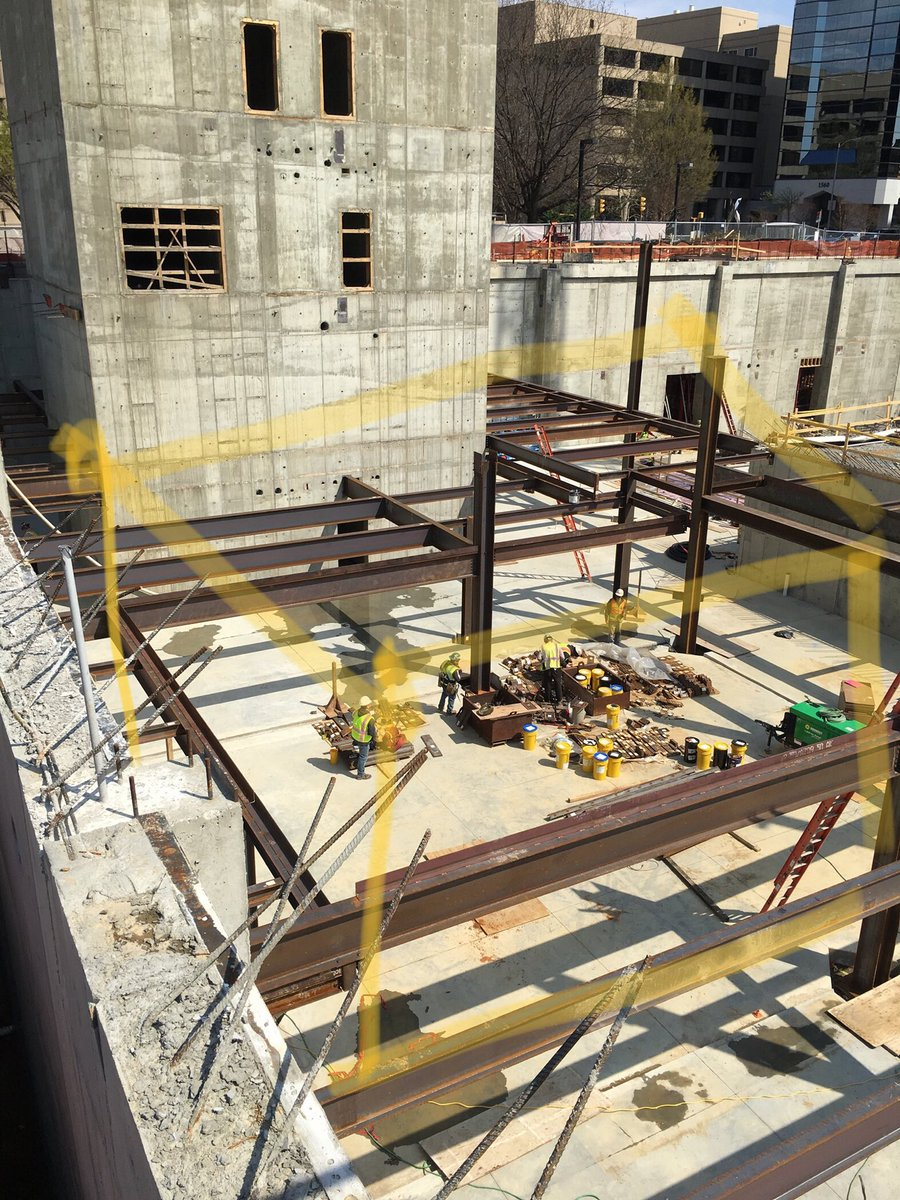 With a little imagination you can see the new <a target='_blank' href='http://twitter.com/hbwtheatre'>@hbwtheatre</a> Black Box among the steel framing at <a target='_blank' href='http://search.twitter.com/search?q=WilsonSite'><a target='_blank' href='https://twitter.com/hashtag/WilsonSite?src=hash'>#WilsonSite</a></a>! <a target='_blank' href='http://twitter.com/HBWProgram'>@HBWProgram</a> <a target='_blank' href='http://twitter.com/HBW_PAC'>@HBW_PAC</a> <a target='_blank' href='https://t.co/nIDEhAMl8o'>https://t.co/nIDEhAMl8o</a>