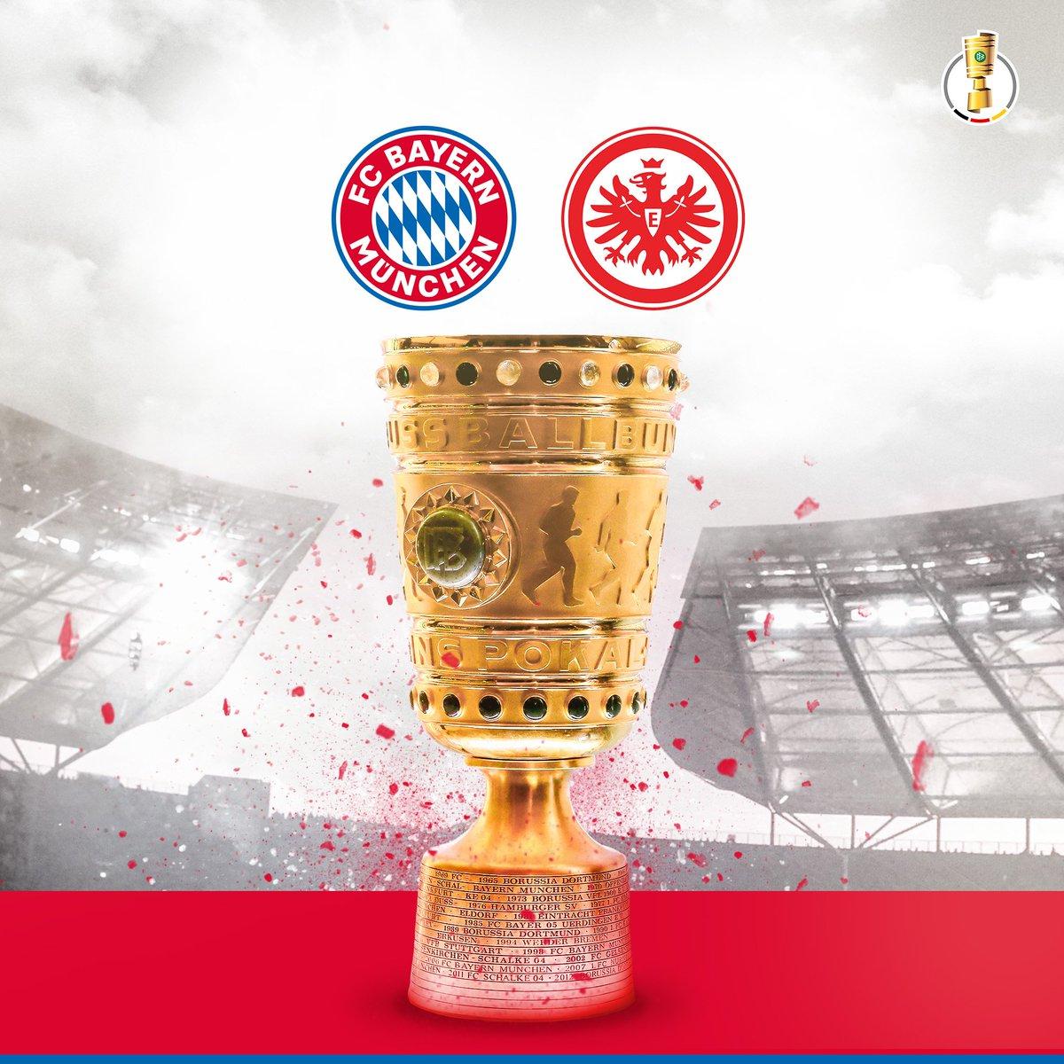 #FCBayern will meet @eintracht_eng in th...