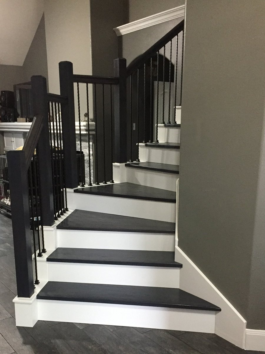 A Full Stair Transformation At The Denton Home .  Http://www.venetianstairs.com/the Denton Residence/ U2026 . #Houston #Texas # Stairs #Remodel #Renovation ...