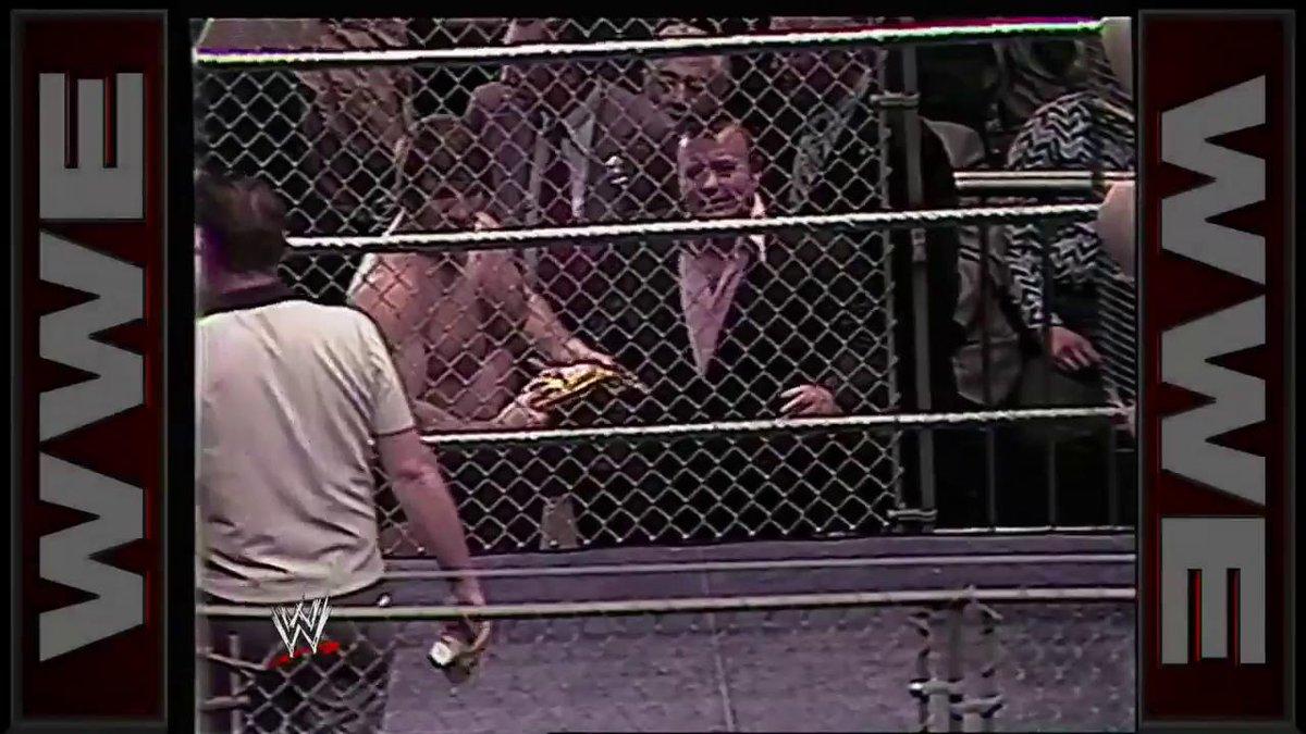 The one and only Bruno Sammartino was always a FIGHTING champion.  #RIPBrunoSammartino