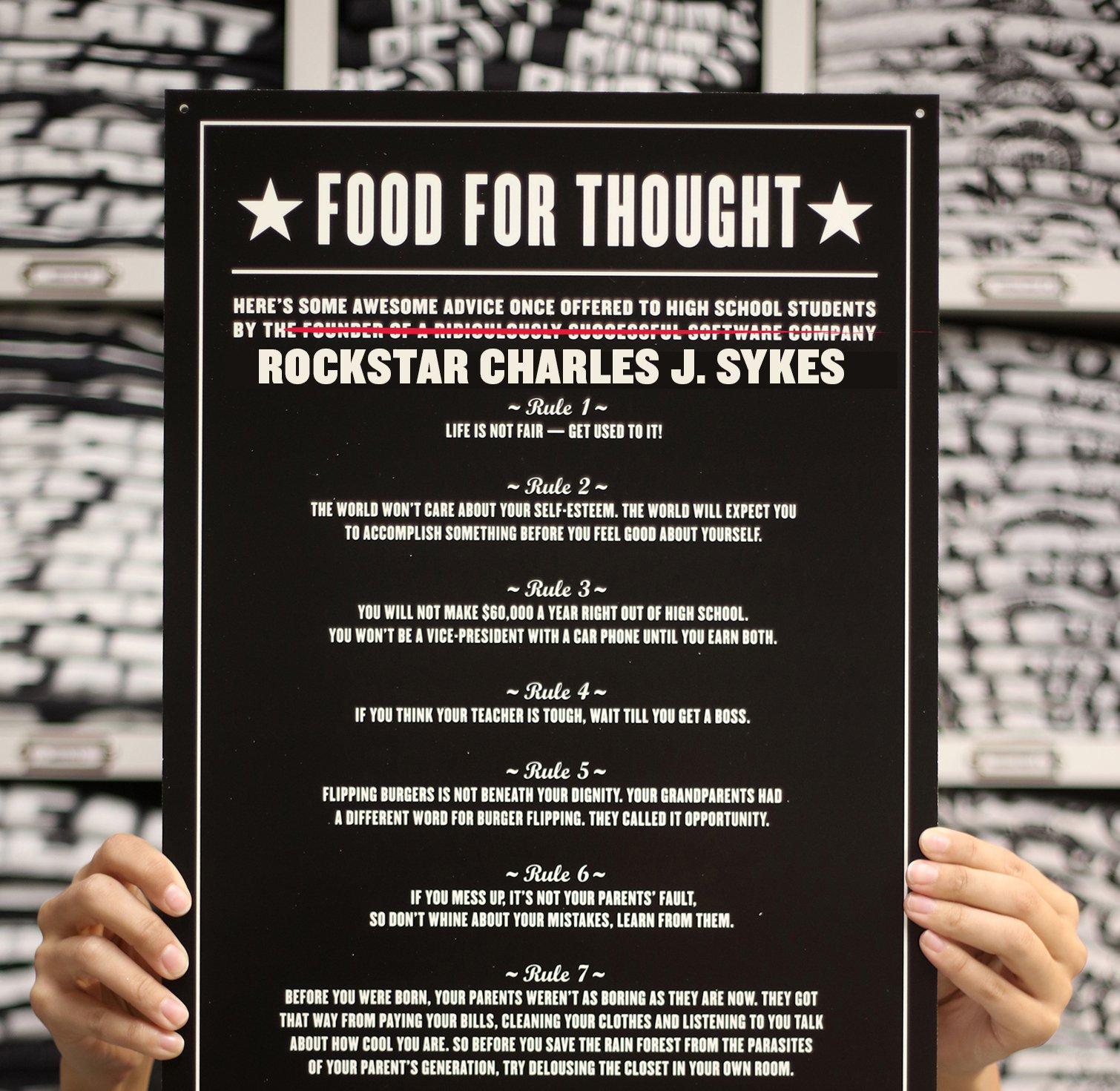 food for thought svenska