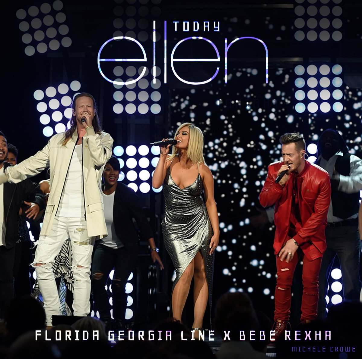 Don't miss us performing on @TheEllenSho...