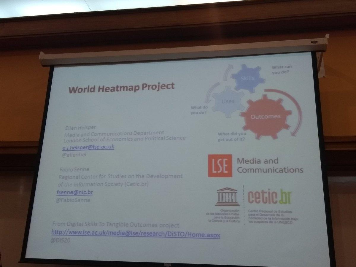 @EllenHel de @MediaLSE & @FabioSenne de @ceticbr exponen sobre World Heatmap Project conferenciadigital.wordpress.com/acerca-de/