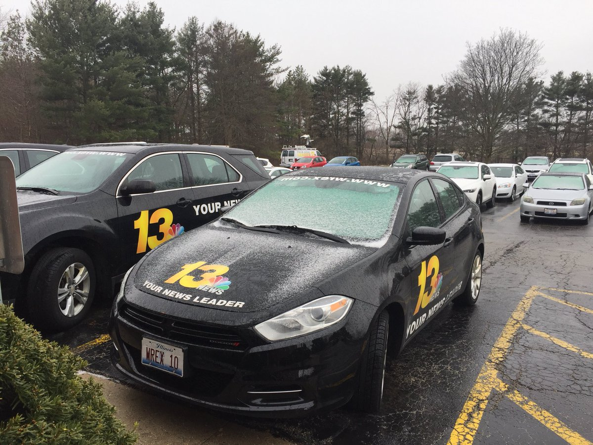 #13Wx Dicey Day - #Rain, #FreezingRain, #Sleet &amp; Snow in the #ILWx #forecast - Stay safe out there.<br>http://pic.twitter.com/rzRty4FfnA