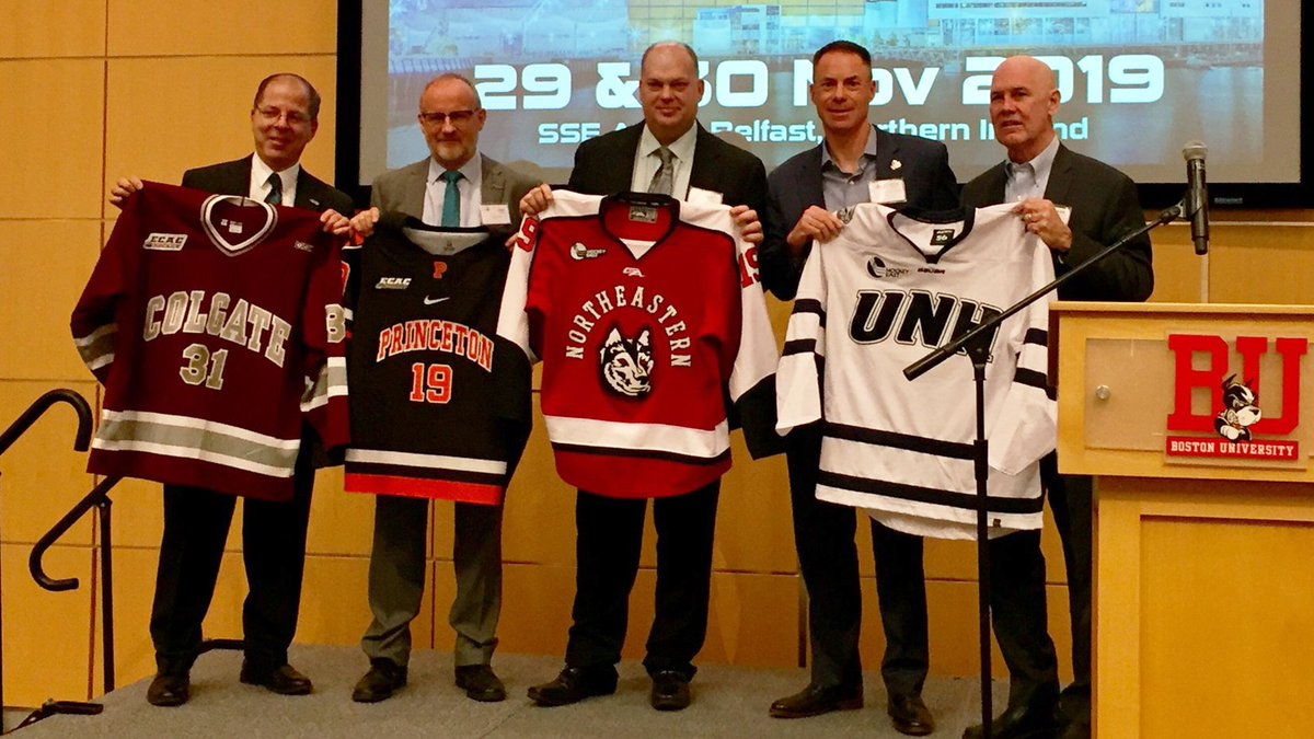 Friendship Four 2019 To Feature Colgate, New Hampshire, Northeastern, Princeton