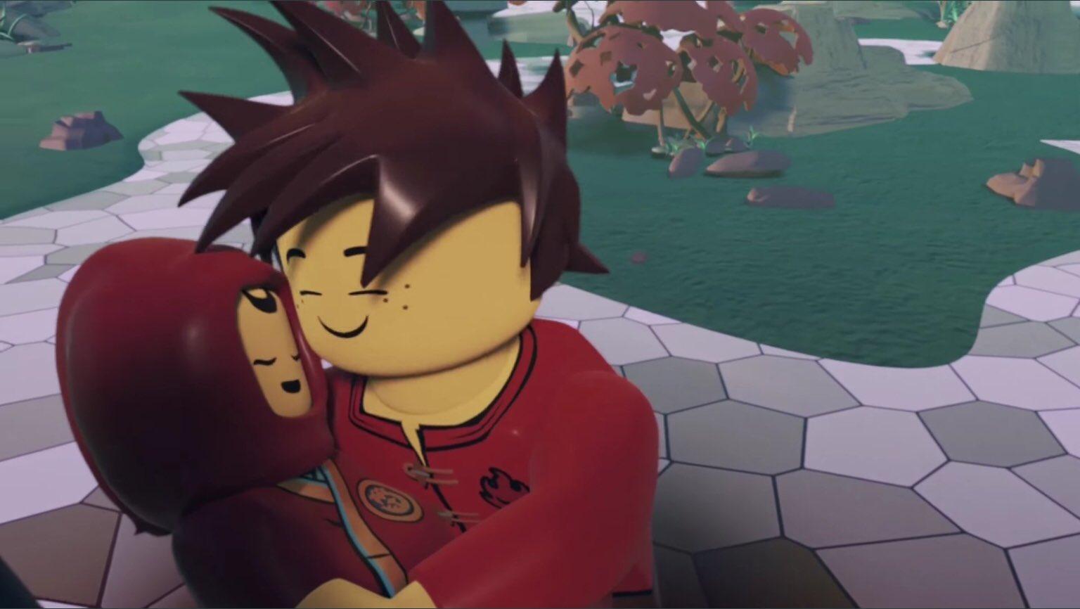 "lego ninjago kai on twitter ""look how cute theyre so"