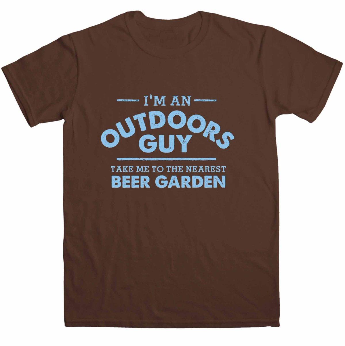 I'm an outdoors guy - take me to the nea...