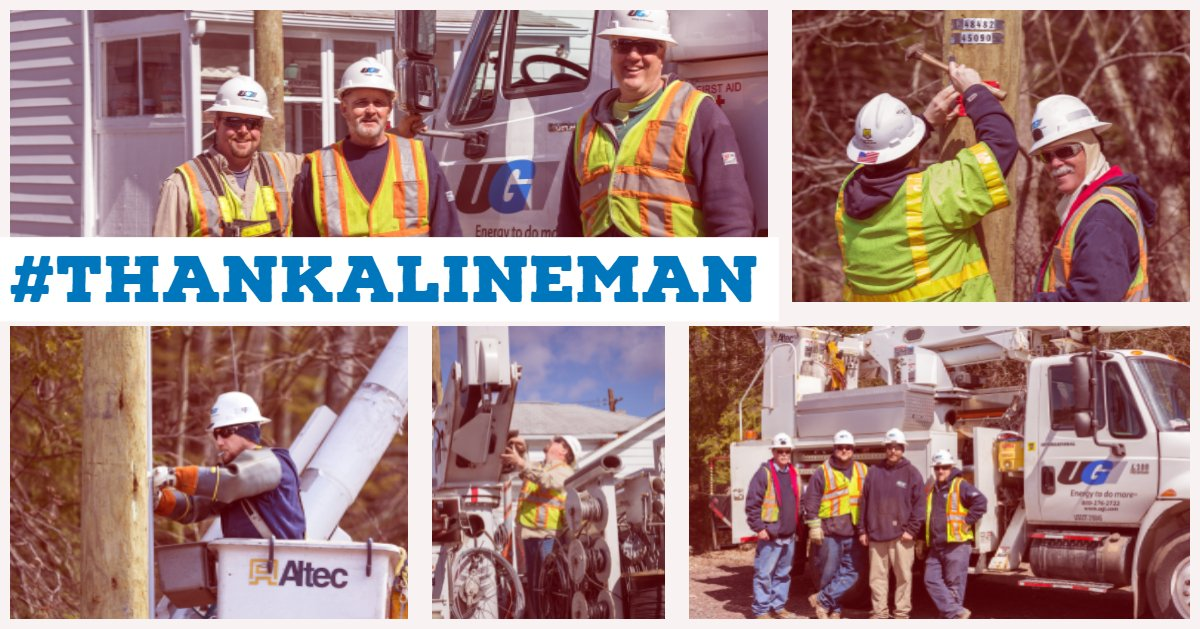 test Twitter Media - UGI's linemen service and maintain more than 2,000 miles of electric lines to provide power to customers throughout northeastern Pennsylvania. #ThankALineman https://t.co/mddjHqcgcZ