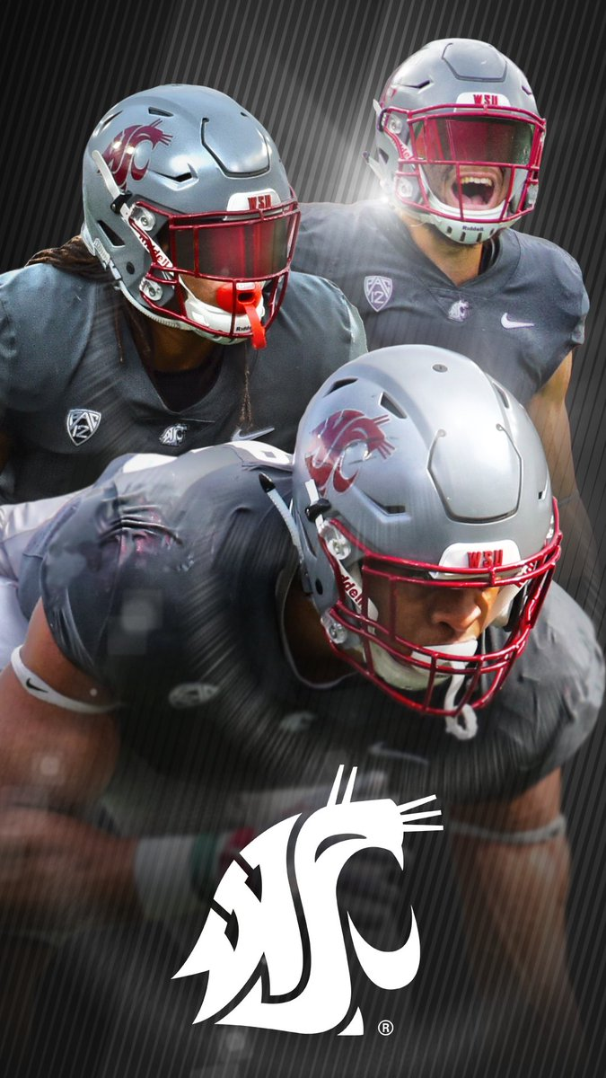 "Washington State Athletics on Twitter: ""New 📱wallpapers to get you ready for the @WSUCougFB Crimson & Gray Spring Game this Saturday!"